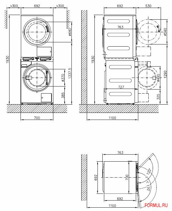 Схема на стиральную машину с сушкой