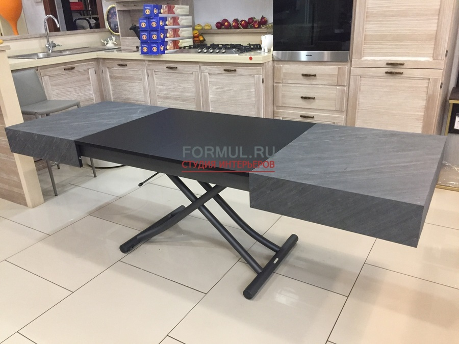 Стол трансформер Ozzio T111 BOX LEGNO LA04/MT98