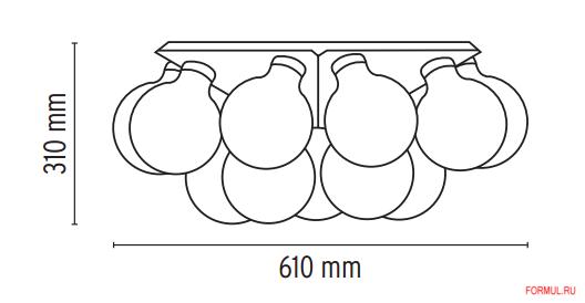 Светильник Flos taraxacum 88 c/w