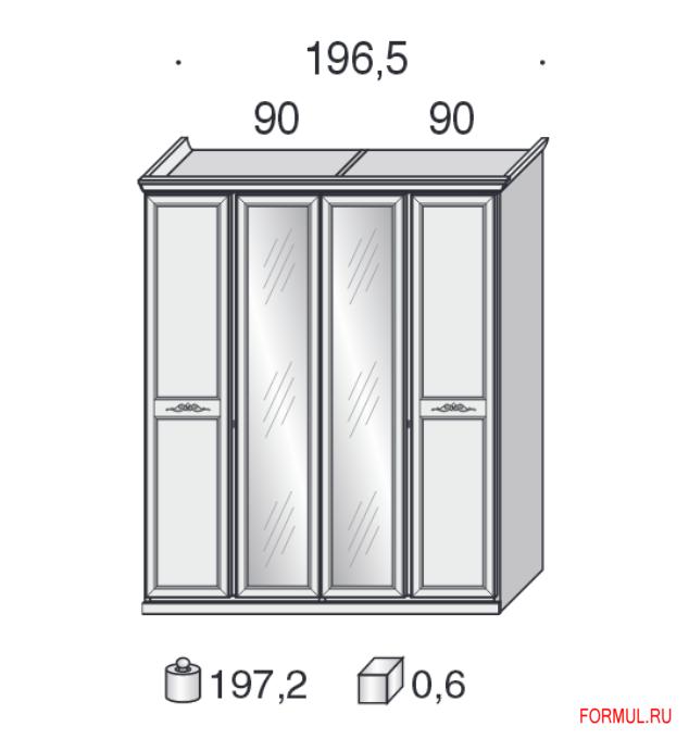 Шкаф San Michele 11A1154