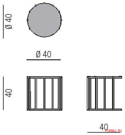 Столик Porada CELL 1