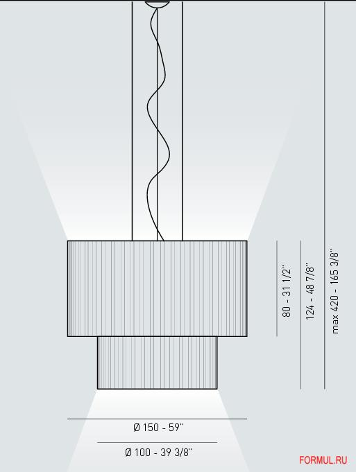 Светильник Axo light SP SK 150