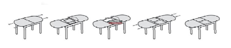 Стол Idealsedia Alghero