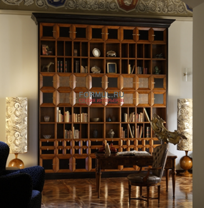 Библиотека annibale colombo l 1394 купить шкафы италия.