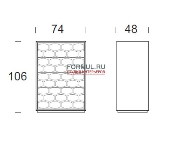 Комод Tonin Casa T6118