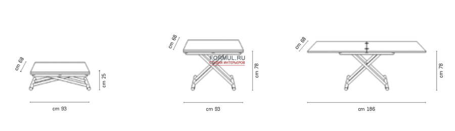 Стол трансформер Altacom Gingillo