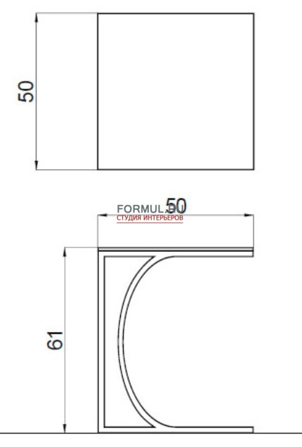 Столик Tonin Casa DETROIT - 8156H