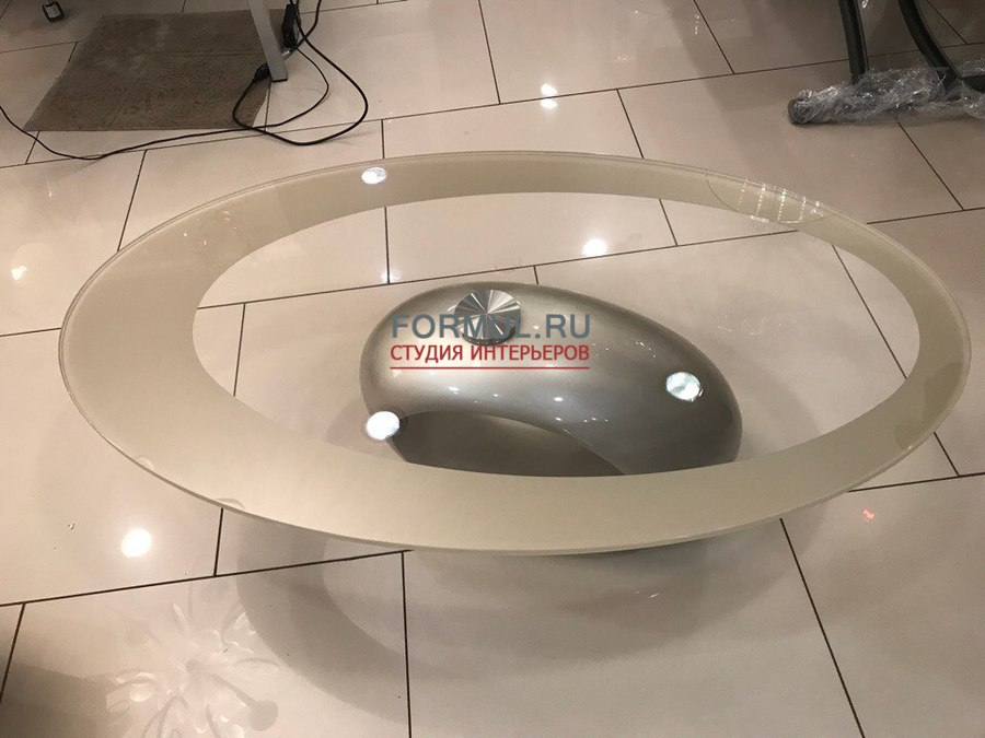 Стол журнальный Tonin Casa DUBAI 6608