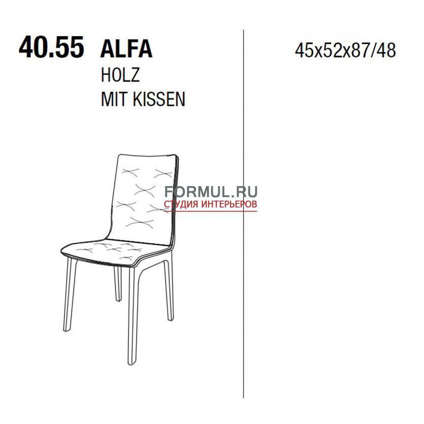 Стул Bontempi Casa Alfa 40.55