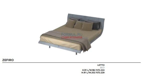 Кровать Mazzali Zefiro