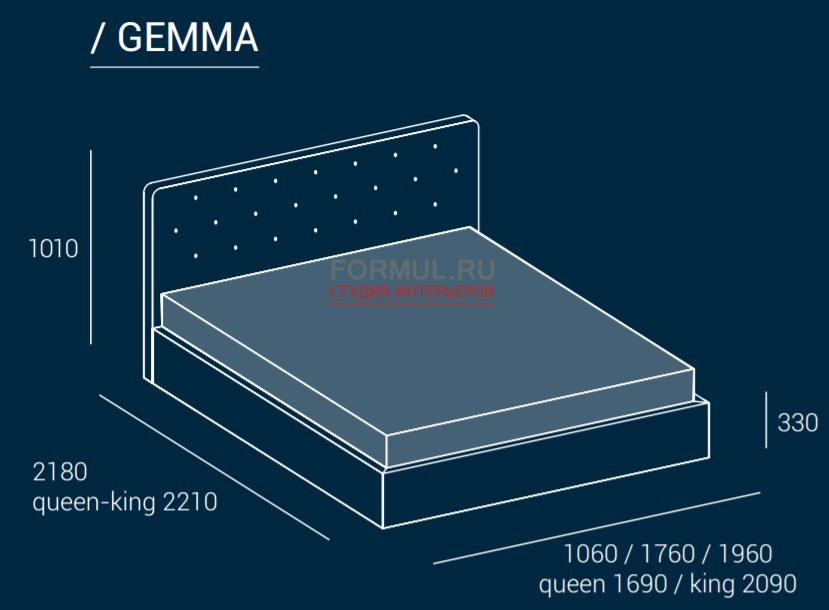 Кровать Dall Agnese Gemma