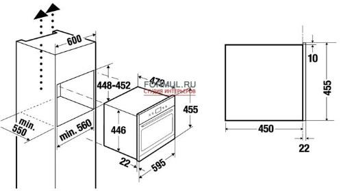 Паровой шкаф Kuppersbusch EDG 6551.0 J1/EDG 6551.0 W1