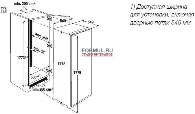 Холодильник Kuppersbusch IKE 3180-3