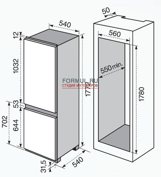 Холодильник Rex Electrolux FI 22/10 FA