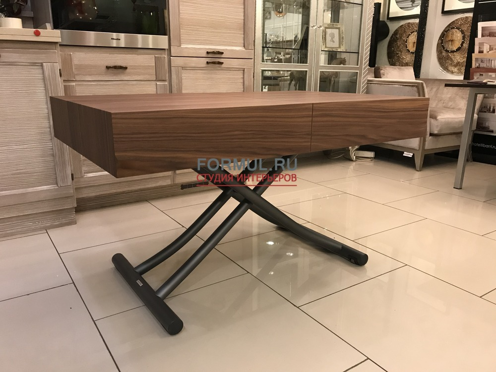 Стол трансформер Ozzio T111 BOX LEGNO