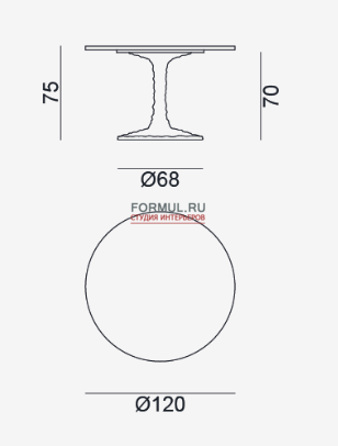 Стол Gervasoni Next 132/136/137/138