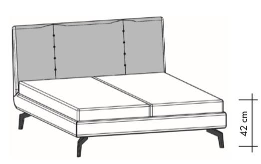 Кровать Thielemeyer Vento