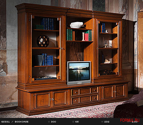 Art. GS331  BOOKCASE