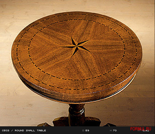 Столик Castellan Art. C503  ROUND SMALL TABLE