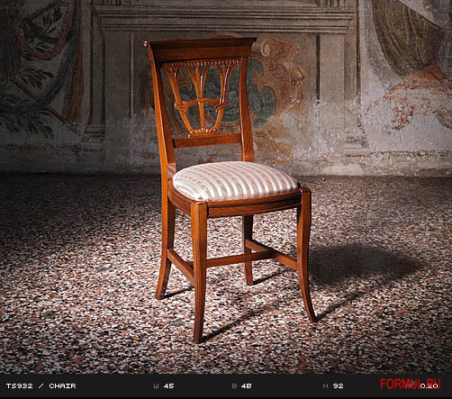 Стул Castellan Art. TS932  CHAIR