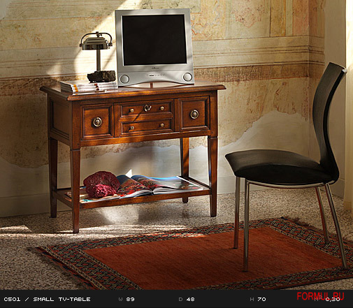 Art. C501  SMALL TV-TABLE