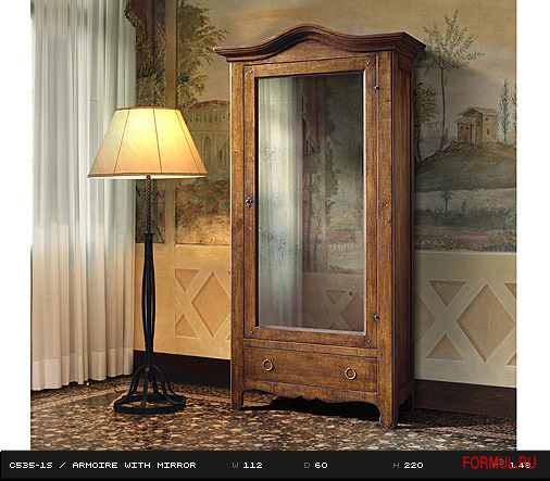 Art. C535-1S  ARMOIRE WITH MIRROR