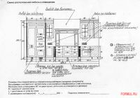 Схема электрооборудования и сантехники