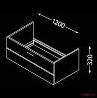 Комплект мебели для ванной Burgbad Crono 2