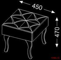 Комплект мебели для ванной Burgbad Diva