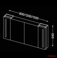 Комплект мебели для ванной Burgbad Lavo