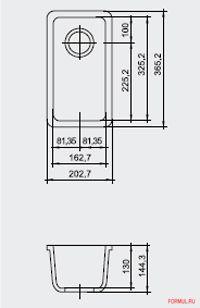 Ширина шкафа: от 30 см