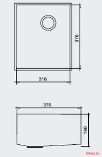 Ширина шкафа: от 40 см