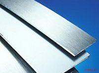 Алюминиевый кант гладкий для приклейки. Размеры: 1,5х42 мм; 1,5х63 мм