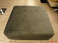 Пуф Asnaghi OXFORD (ткань серого цвета)