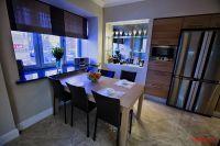 Кухня Biefbi cucine, стол и стулья Natisa