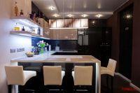 Кухня BIEFBI CUCINE, барные стулья CATTELAN ITALIA